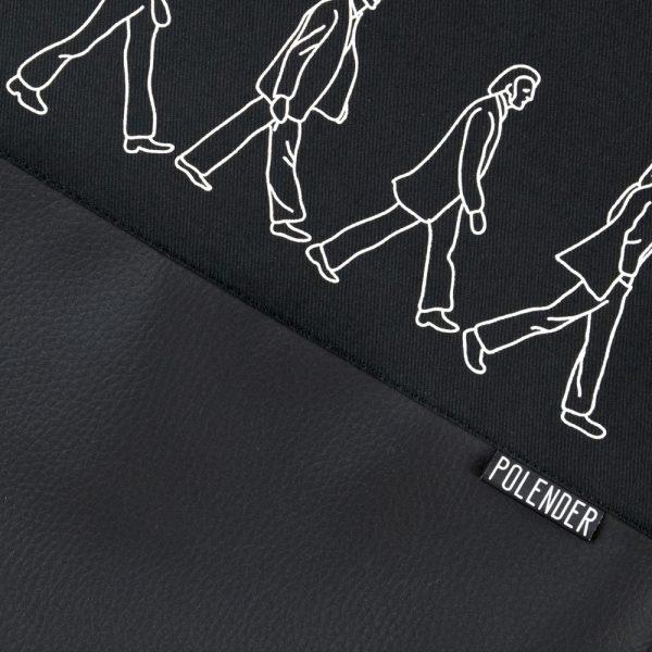 Print ABBEY ROAD on handmade drawstring bag