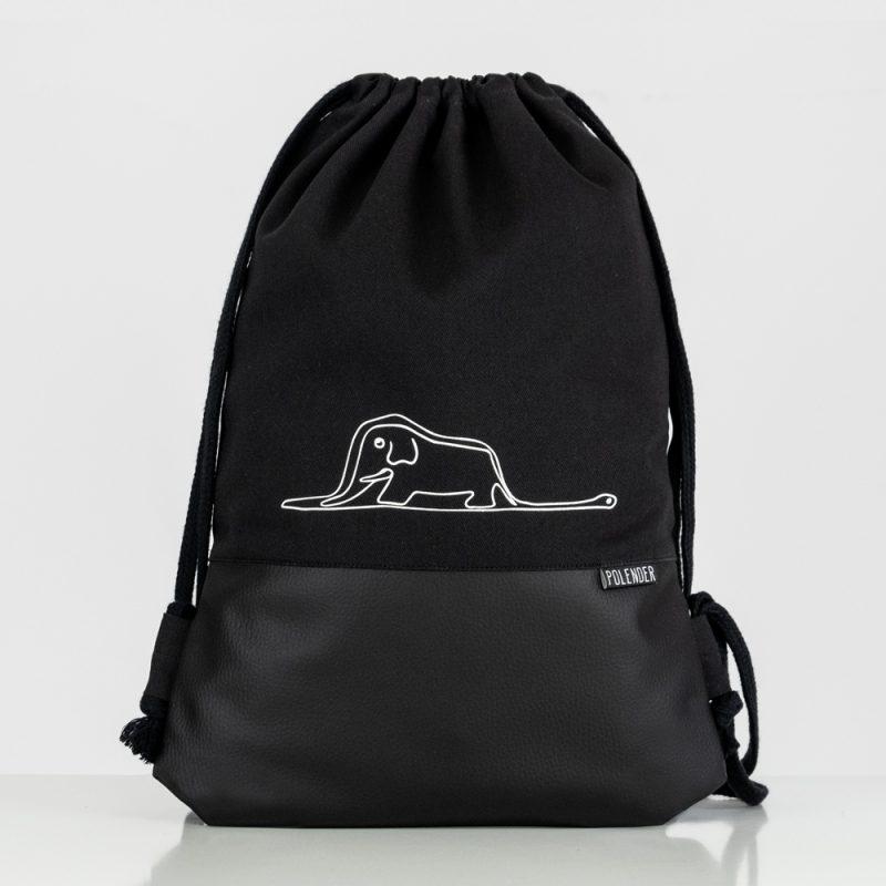 Handmade drawstring bag with print Little Prince