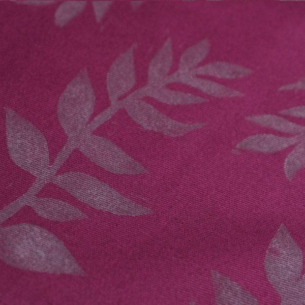 Print fern on drawstring bag by Polender
