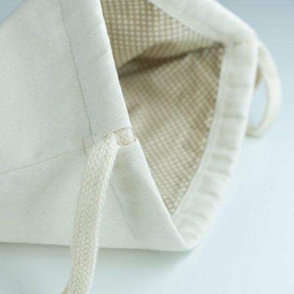 Handmade drawstring bag cord