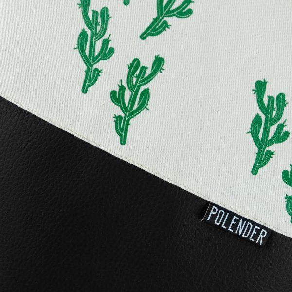 Cactus Print on Drawstring Bag