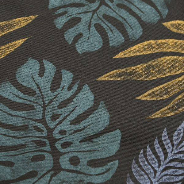 Lino Monstera Print on Drawstring Bag